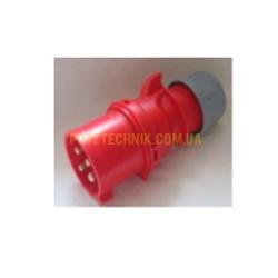 ele-roz Вилка промышленная 16А 4В 400В (папка)