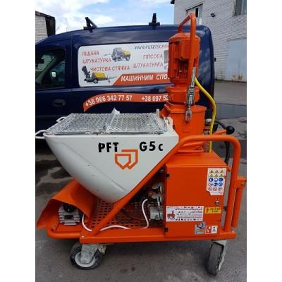 Штукатурная станция PFT G5c fu 220-400v